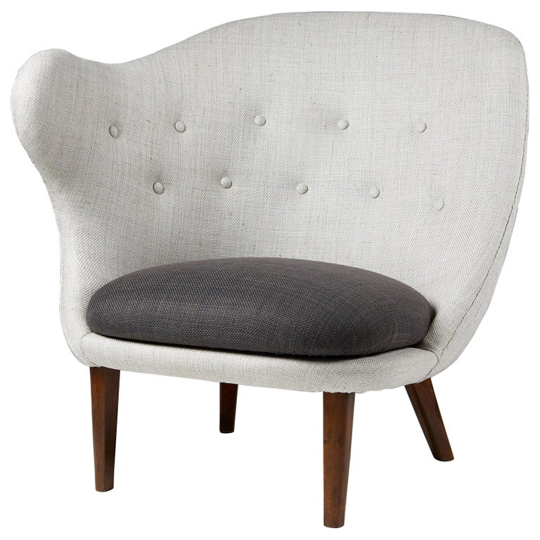 """Armchair """"The Thumb"""" Designed by Arne Norell for Gösta Westerberg, Sweden, 1952 For Sale"""