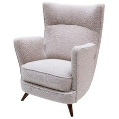 "Armchair ""Tren"" Designed by Manuel Barbero, 1953, Spain, Chair, White, Design"