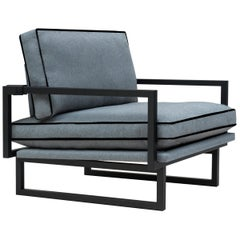 Armchair Urban GP01 Charcoal, Ristretto, Minimal Style
