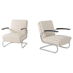 Armchairs after Thonet S411, Mid-20th Century