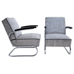 Armchairs after Thonet S411, Mid-Century 20th Century