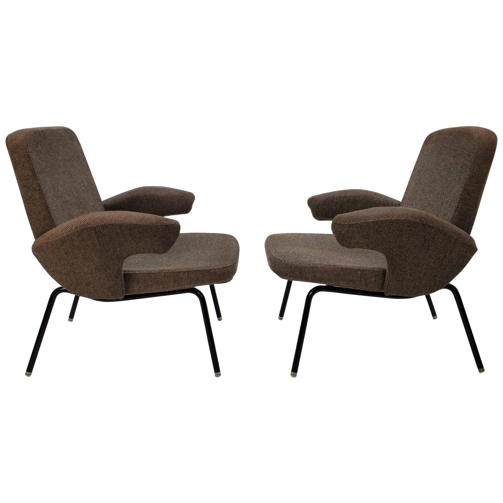 Armchairs by Alan Fuchs, Set of Two, 1961
