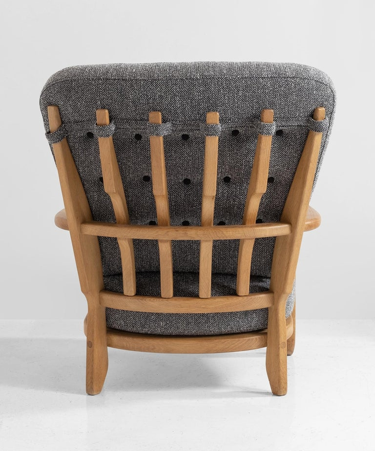 French Armchairs by Guillerme & Chambron For Sale