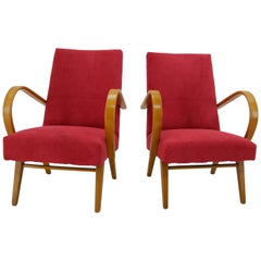 Armchairs by Jaroslav Smidek, 1960s, Set of Two
