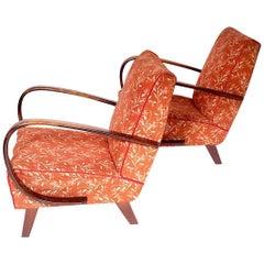Armchairs by Jindrich Halabala