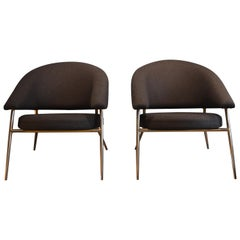 Armchairs by Maurice Cabrol