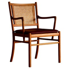 Armchairs by Ole Wanscher for P Jepperson