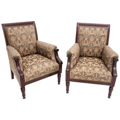 Armchairs from circa 1900, Renovated