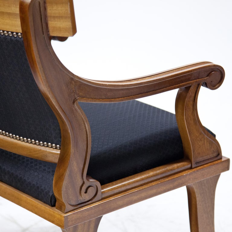 Armchairs in Biedermeier Style, 20th Century For Sale 2