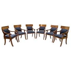 Armchairs in Biedermeier Style, 20th Century
