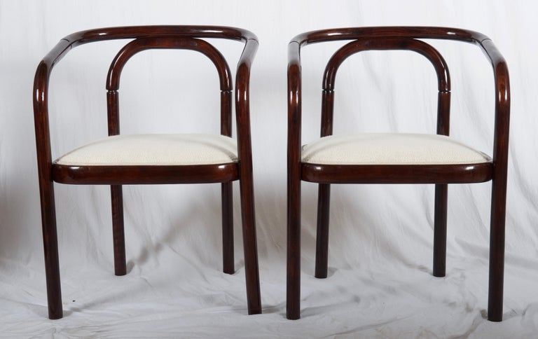 Late 20th Century Armchairs in the Style of Poul Henningsen For Sale