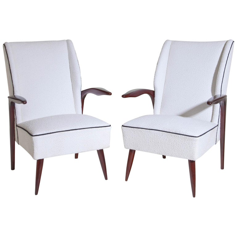 Armchairs, Italy Mid-20th Century For Sale
