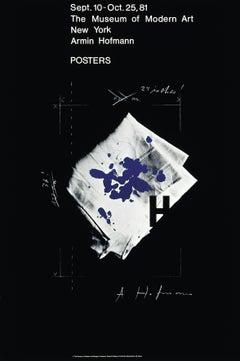 """Armin Hofmann POSTERS Museum of Modern Art"" Swiss Graphic Design Vintage Poster"