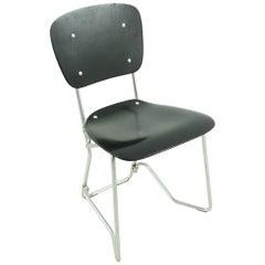 Armin Wirth Aluflex Folding Chair for Ph. Zieringer KG, circa 1960s