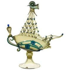 Arminia Vivarini 1521 Pitcher Vessel Pauly, Luxury Fume Bluino Masterpiece 1930s