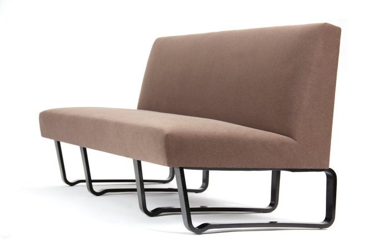 Mid-Century Modern Armless Sofa by Edward Wormley For Sale