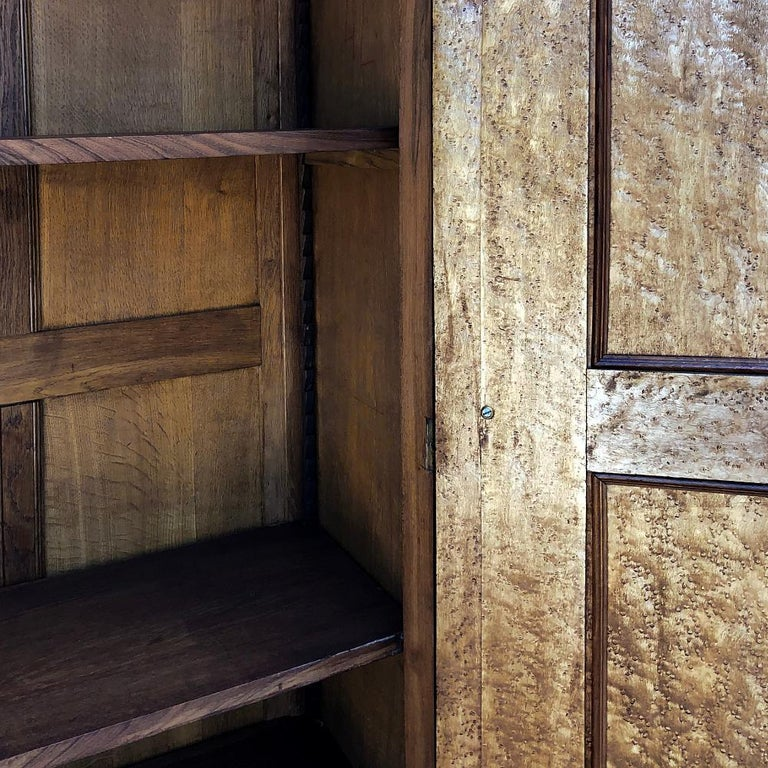 Armoire, 19th Century French Louis XV in Walnut For Sale 7