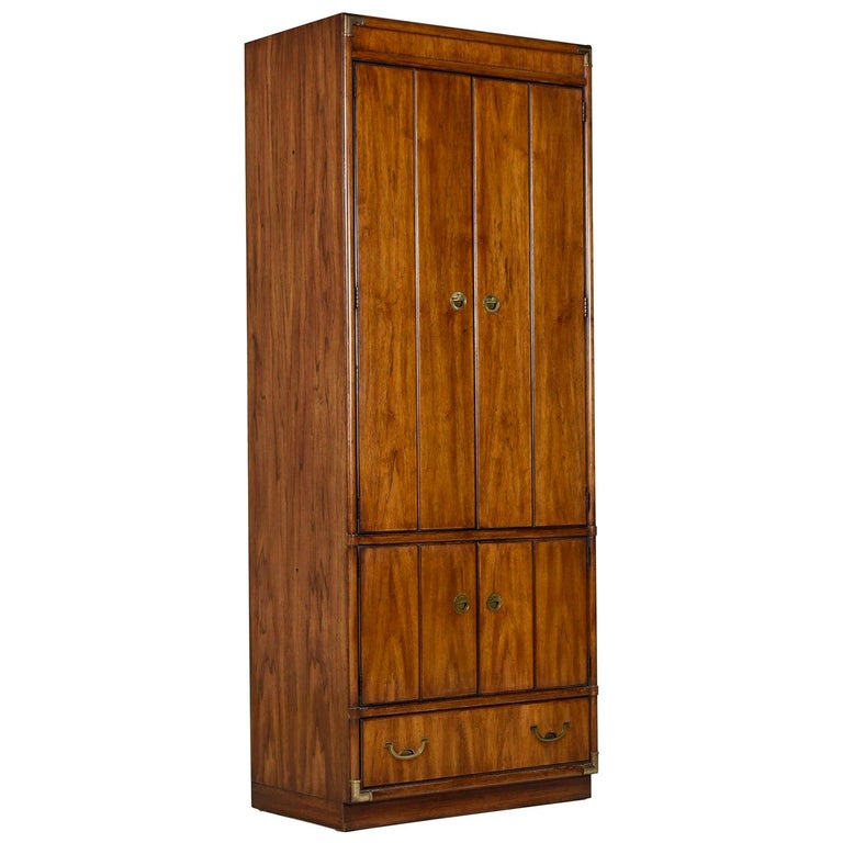 Armoire Bookcase Cabinet By Drexel Heritage Accolade Collection