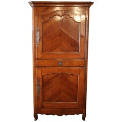 Armoire called Gens Debout from France 18 century in Cherrywood