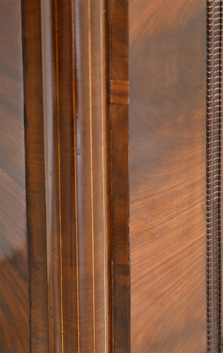 Armoire in West Indies Mahogany, Northern Europe, circa 1825 For Sale 8