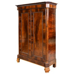 Armoire in West Indies Mahogany, Northern Europe, circa 1825