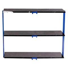 Armombiedro Studio Apoyo de Refrectorio Black Marble Shelf Cabinet, Spain, 2019