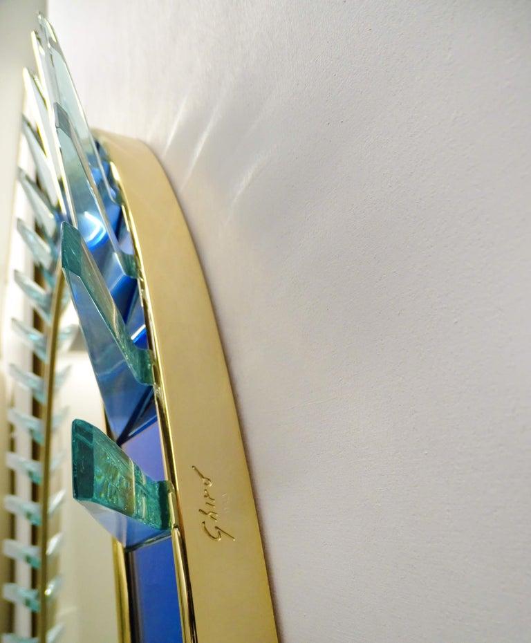Italian Armonya Mirror by Ghirò Studio for Fabio Ltd For Sale