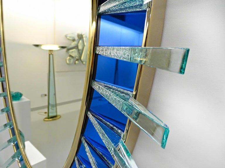 Armonya Mirror by Ghirò Studio for Fabio Ltd In New Condition For Sale In Palm Springs, CA