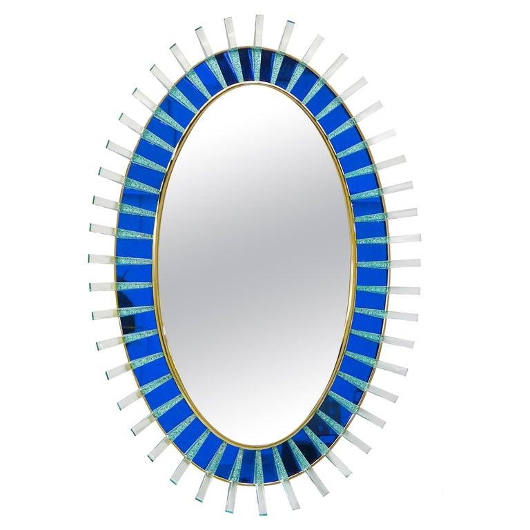 Armonya Mirror by Ghirò Studio for Fabio Ltd For Sale