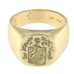 Arms Ring 18 Karat Yellow Gold