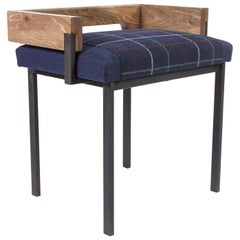 Arms Stool by Charlotte Besson-Oberlin