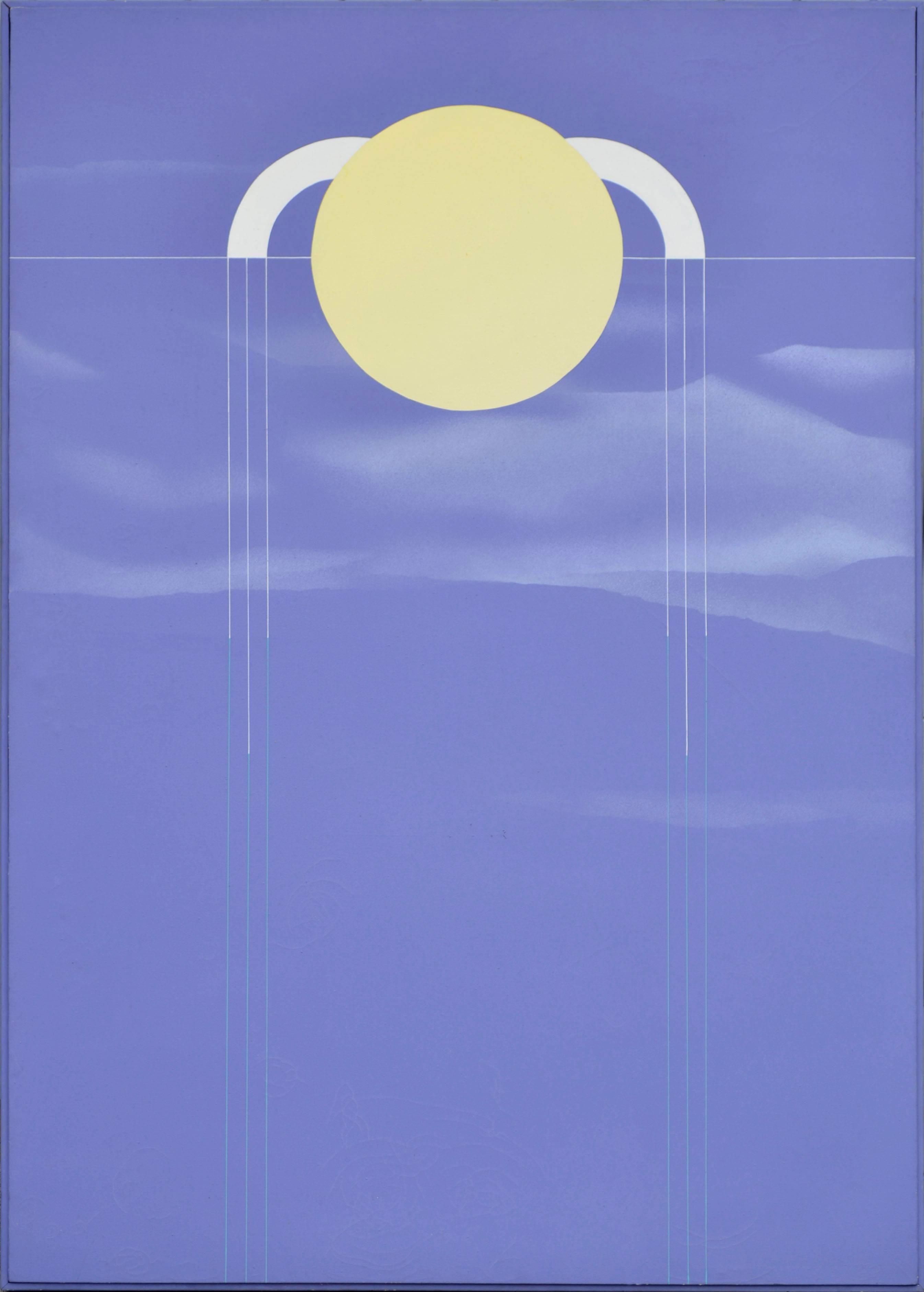 Zuni Moon - 1970's Minimalist Geometric Abstract