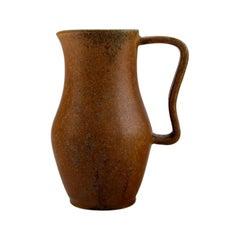 Arne Bang '1901-1983', Denmark, Jug in Glazed Ceramics, 1940s/50s