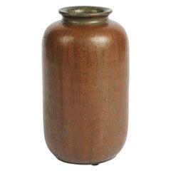 Arne Bang, Glazed Ceramic Vase, Denmark, 1930s