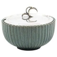 Arne Bang Stoneware Jar with Lid