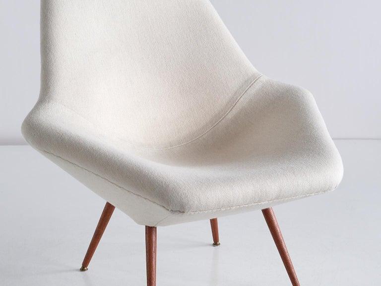 Arne Dahlén Lounge Chair, Dahléns Dalums Fåtöljindustri, Sweden, 1960s In Good Condition For Sale In The Hague, NL
