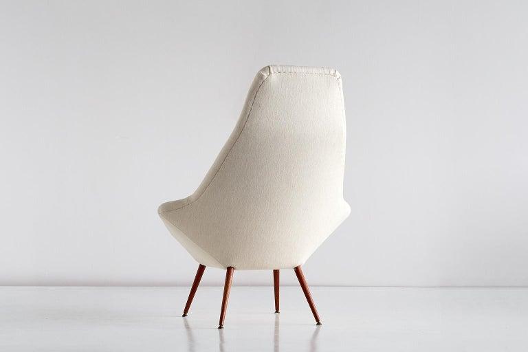 Arne Dahlén Lounge Chair, Dahléns Dalums Fåtöljindustri, Sweden, 1960s For Sale 2