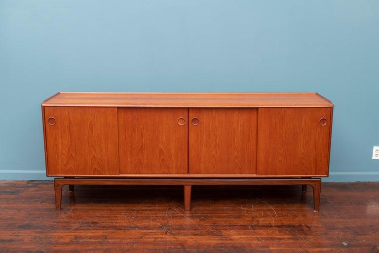 Arne Hovmand Olsen Danish Credenza In Good Condition For Sale In San Francisco, CA
