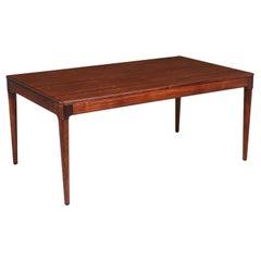 Arne Hovmand-Olsen Expanding Rosewood Dining Table for Mogens Kold