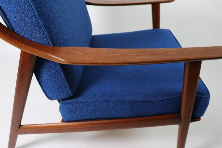 Arne-Hovmand Olsen for Mogens Kold Danish Modern Teak Frame Lounge Chair For Sale 7