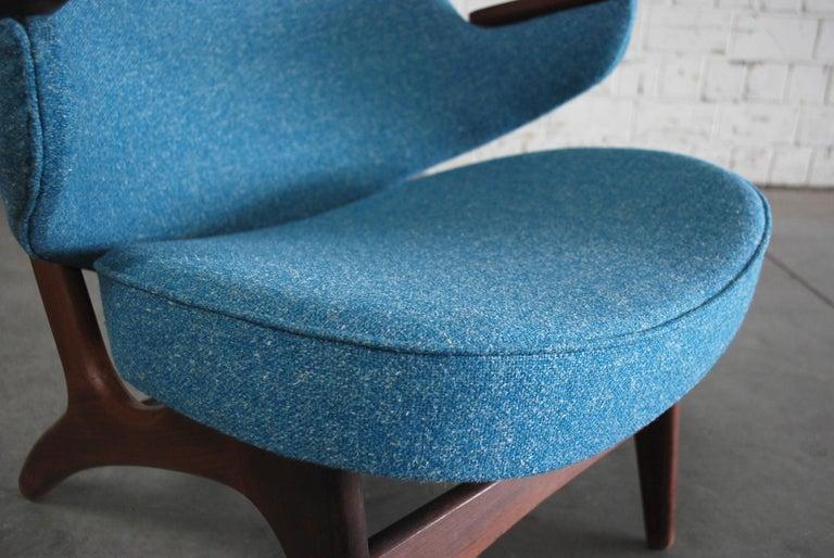Arne Hovmand Olsen Pair of Easy Lounge Chair, 1960s For Sale 3