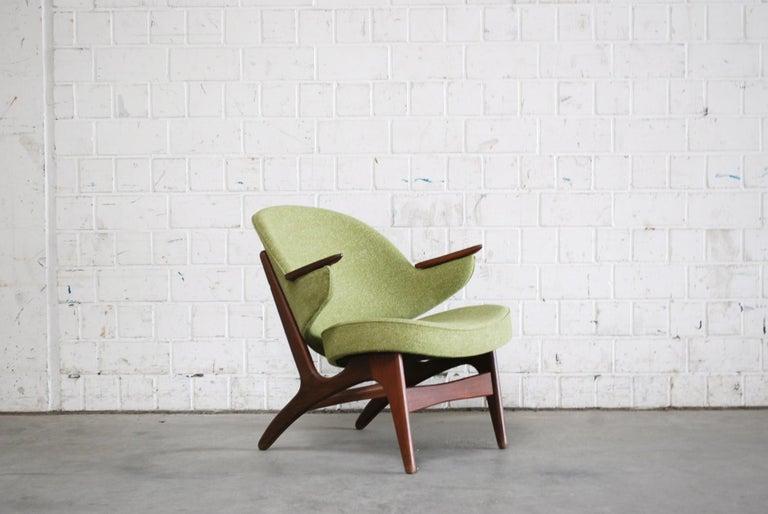 Arne Hovmand Olsen Pair of Easy Lounge Chair, 1960s For Sale 5