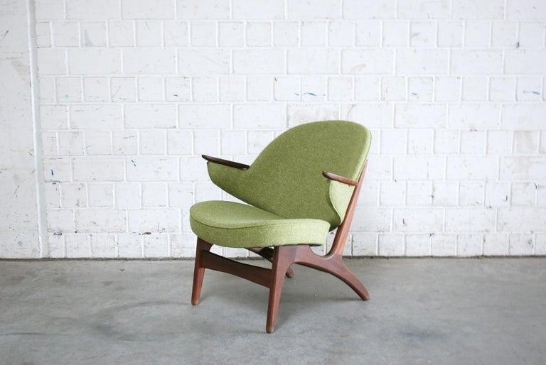 Arne Hovmand Olsen Pair of Easy Lounge Chair, 1960s For Sale 6
