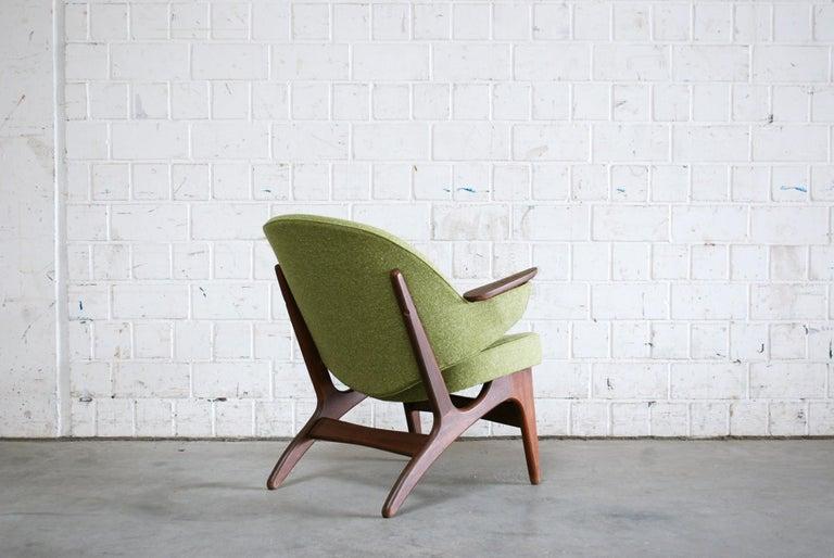Arne Hovmand Olsen Pair of Easy Lounge Chair, 1960s For Sale 7