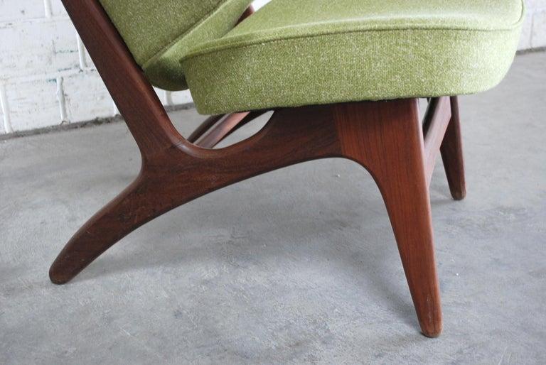 Arne Hovmand Olsen Pair of Easy Lounge Chair, 1960s For Sale 8