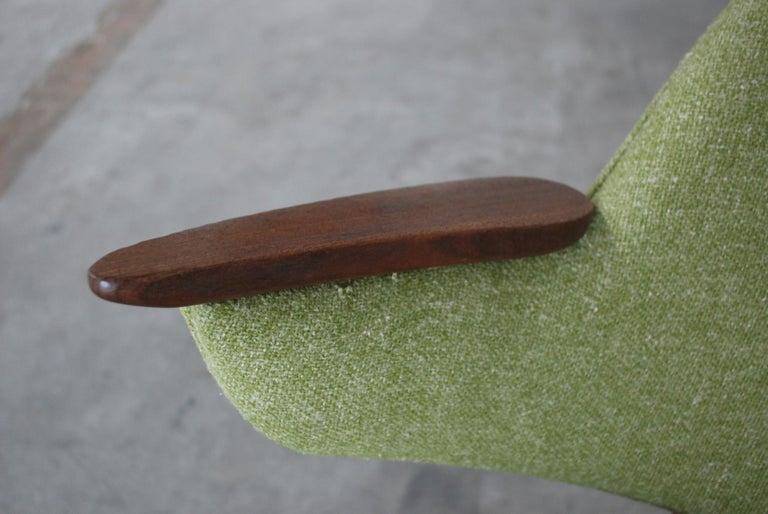 Arne Hovmand Olsen Pair of Easy Lounge Chair, 1960s For Sale 9