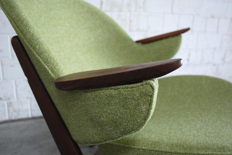 Arne Hovmand Olsen Pair of Easy Lounge Chair, 1960s For Sale 10