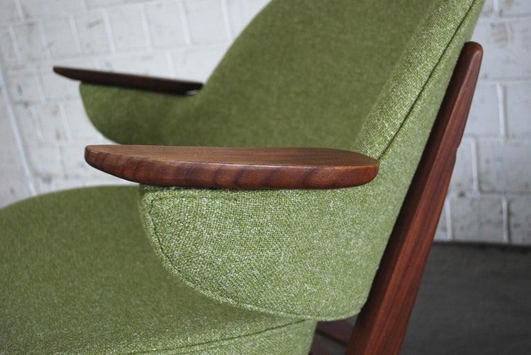 Arne Hovmand Olsen Pair of Easy Lounge Chair, 1960s For Sale 11