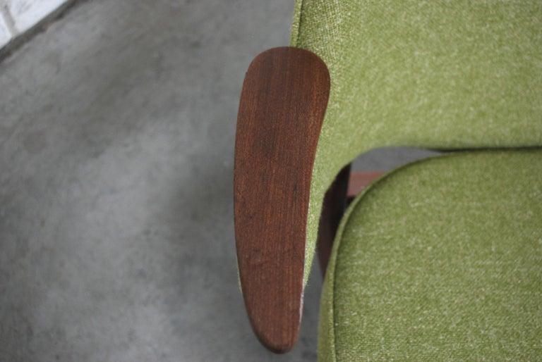 Arne Hovmand Olsen Pair of Easy Lounge Chair, 1960s For Sale 12