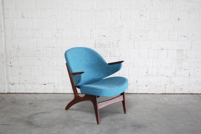 Danish Arne Hovmand Olsen Pair of Easy Lounge Chair, 1960s For Sale